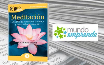 El 'GuíaBurros: Meditación' en la web de Mundo Emprende