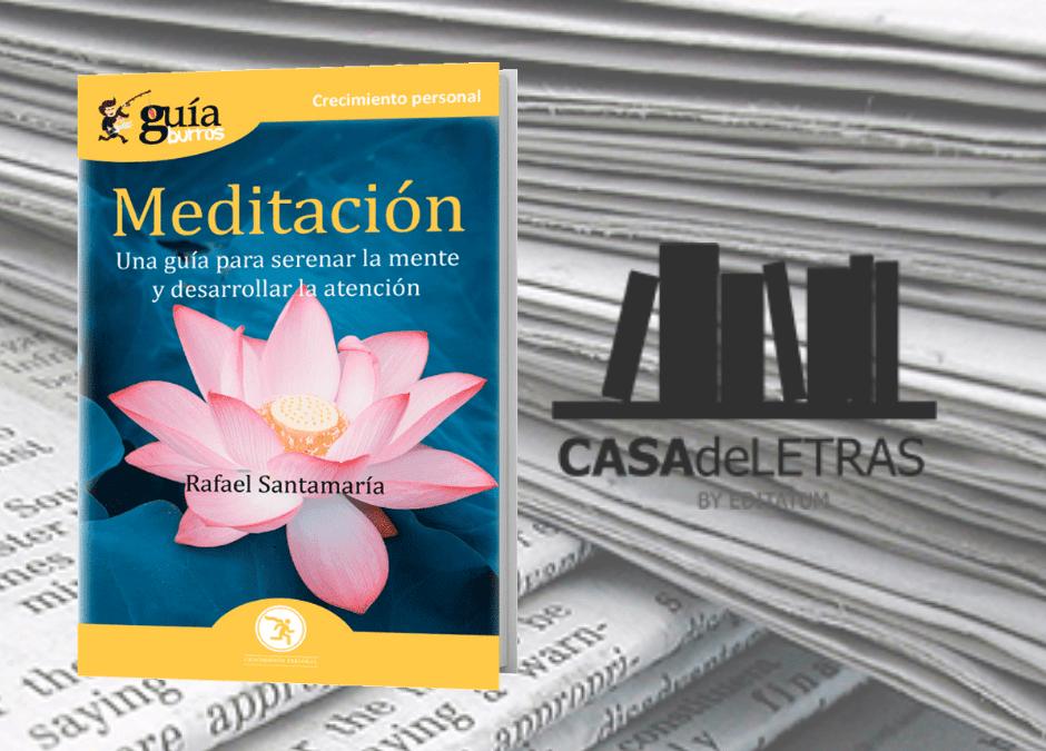 El 'GuíaBurros: Meditación' en Casa de Letras